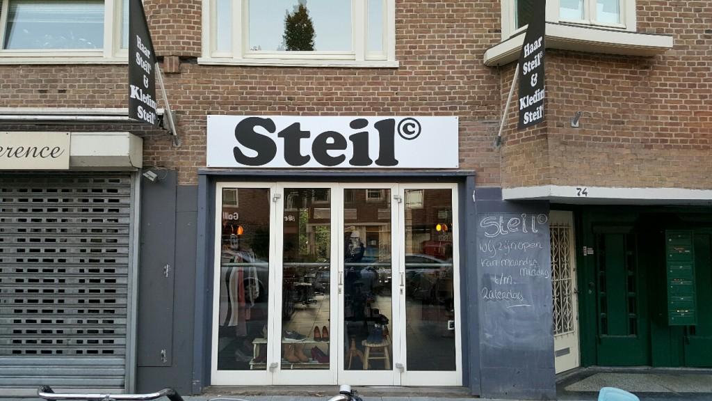 entree steil rijnstraat 74 rivierenbuurt amsterdam